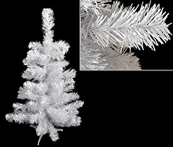 #!Cheap 2' White Canadian Pine Artificial Christmas Tree - Unlit