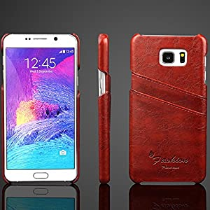 ABC® For Samsung Galaxy Note 5 Leather Card Slot Shell Case