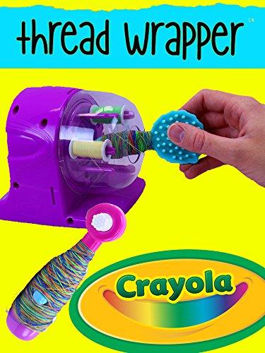 CRAYOLA Creations Thread Wrapper Machine Arts & Crafts DIY Baby Alive Lucy Accessories