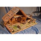 alpenl ndische weihnachtskrippe bausatz zum selberbauen k83265 bausatz f r kinder und. Black Bedroom Furniture Sets. Home Design Ideas