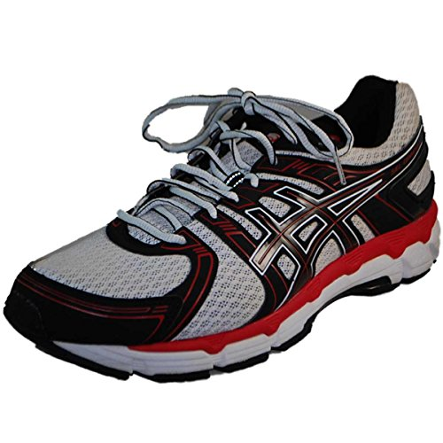 Asics Men'S Gel-Oracle Running Shoe,White/Black/Red,13 M Us
