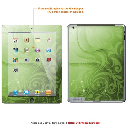 Protective Decal Skin skins Sticker forApple Ipad 2 (released 2011 model) case cover IPAD2-381