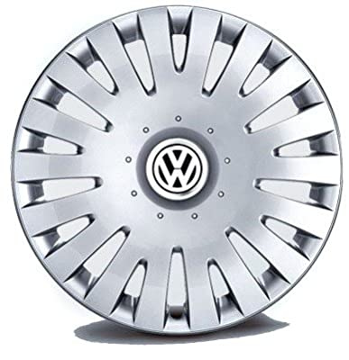 Original Volkswagen VW Ersatzteile Radkappen Satz 16 Zoll (Passat 3C, Scirocco, Eos) von Volkswagen - Reifen Onlineshop