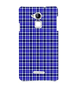 Fuson Premium Back Case Cover Buffalo checks pattern With Multi Background Degined For Coolpad Note 3