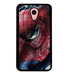 Printvisa Spider Man In Action Back Case Cover for Meizu m2 note::Meizu Blue Charm Note2