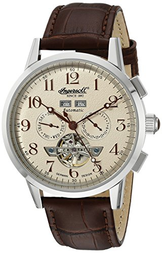 Ingersoll Orologio da unisex bianco display analogico e da IN4411CR