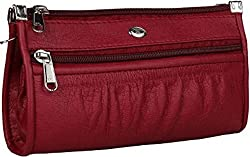Jmd Women's/Girl's Clutch (Maroon,JMD66)