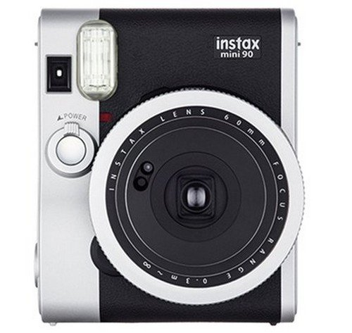 Fujifilm Instax Mini 90 – Instant Color Camera – Neo Classic – Black