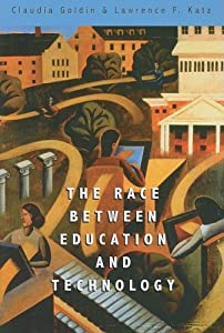 "Cover of ""The Race between Education and ..."