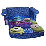 Marshmallow Childrens Furniture - Monsters University Flip Open Sofa