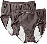 (アツギ)ATSUGI サニタリーショーツ 1 week Sanitary shorts 多い日長時間 【肌フリースタイル】 ナイトシート 〈2枚セット〉 87405QS 236 ダークブラウン 3L