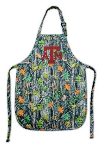Texas A&M Real Camo Apron Aggies Logo Ncaa Top Rated For Grilling, Barbecue, Kitchen