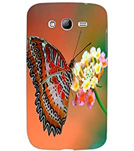 SAMSUNG GALAXY GRAND BUTTERFLY Back Cover by PRINTSWAG
