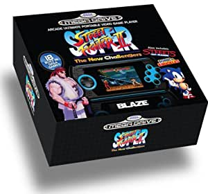 Blaze Sega Genesis Portable System: Super Street Fighter II Edition