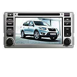 See Generic 6.2 inch Car DVD Player for HYUNDAI SANTA FE 2006 2007 2008 2009 2010 2011 2012 with GPS navigation Multimedia System Details
