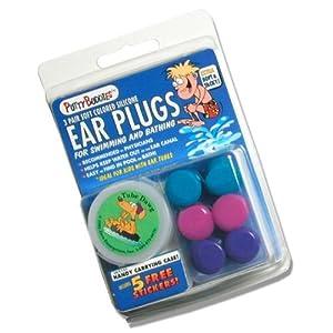 Putty Buddies - Earplugs - 3 pairs - purple -pink - teal