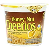 Honey Nut Cheerios Cereal Cup, 1.8 Ounce (Pack of 12 )