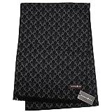 (パトリックコックス) PATRICK COX シルク100% マフラー PC-1002-BLACK-521977 ブラック系
