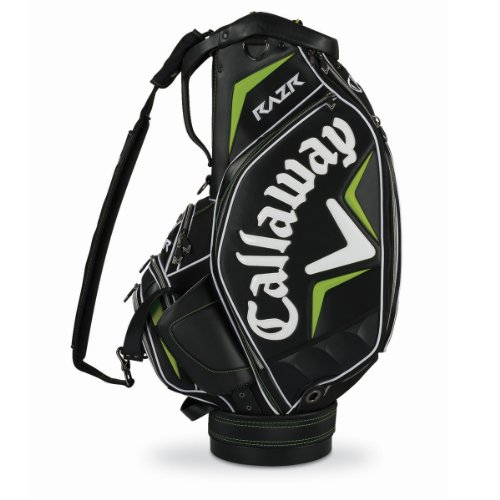 Callaway RAZR Staff Bag, Black/Green