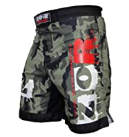 Camo Pro MMA Fight Shorts Camouflage UFC Cage Fight Grappling Muay Thai Kickboxing Boxing Martial Art Clothing by ZOR-Fitness