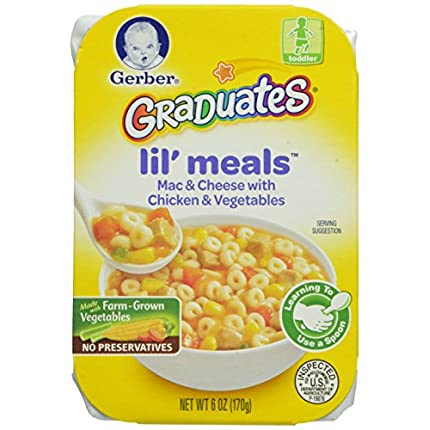 Gerber Graduates Lil' Meals, Mac and Cheese with C...