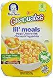 Gerber Graduates Lil Meals, Mac and Cheese with Chicken and Vegetables, 6 Ounce (Pack of 6)