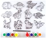 Suncatcher Group Activity Kit, Dinosaur 12/Pkg