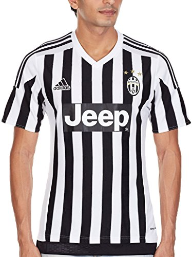 adidas-juventus-domicile-replica-maillot-manches-courtes-homme-blanc-noir-fr-s-taille-fabricant-s