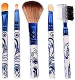 GeorgiaUSA Make Up Brushes 5 Pieces Set
