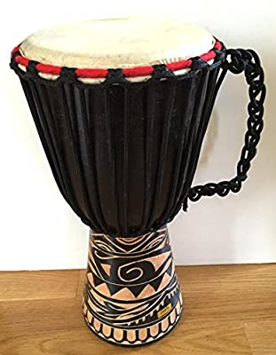Djembe Drum Bongo Percussion Drum WORLD BAZAAR BRAND, Professional Sound from Jive