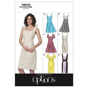 Vogue Patterns V8648 Misses' Dress, Size AA (6-8-10-12)