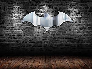 Batman Logo Mirror, Clear