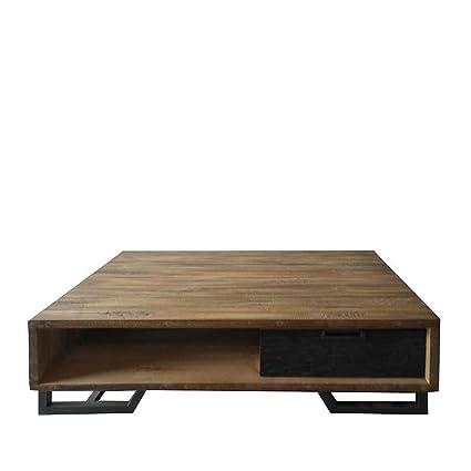Wohnzimmer Couchtisch im Loft Design Holz Pharao24