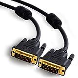 CSL - 2m DVI zu DVI Kabel | Dual Link 24+1 | vergoldete...