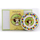 Mary Engelbreit 3 Piece Feeding Gift Set For Baby Girls And Baby Boys Puppy