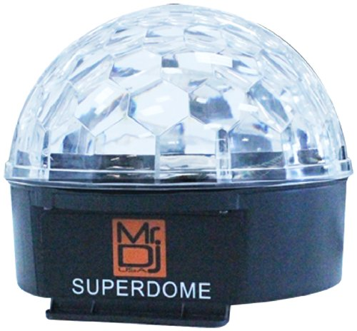Mr. Dj Superdome Led Crystal Magic Ball With 6 Different Colors