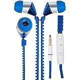 APPLE IPHONE 6 PLUS COMPATIBLE New Designed Zipper Style In Ear Bud Earphones Handsfree By Estar - B01HLYL8GC
