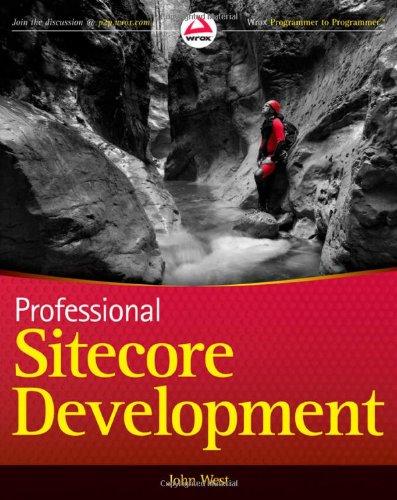 Professional Sitecore Development 047093901X pdf