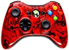 5,500+ Mode Modded Gaming Controller For Xbox 360 & PC In Custom RED SKULLS SHELL!!! Hydro-Dipped Shell (New High Quality Finish) Will Not Chip, Scratch, or Fade -Sniper Quick Scope & Hold Your Breath,Jitter,Drop Shot,Jump Shot,Auto Aim For Nazi Zombies, Special Ops & Campaign Missions, Auto Burst 1 To 8 Rounds Per Trigger Pull,Quick Aim,Dual/Akimbo,Mimic, And More