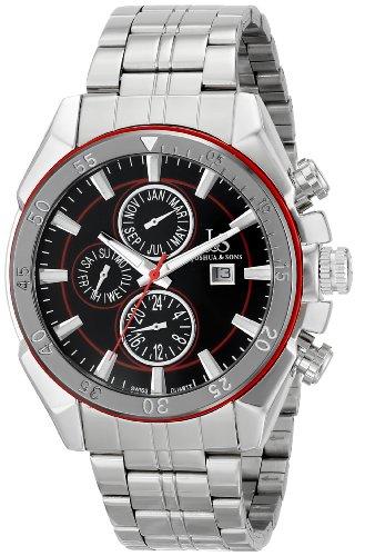 Joshua & Sons Reloj 44.5 mm JS68RD Rojo