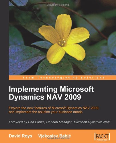 Implementing Microsoft Dynamics NAV 2009, Buch