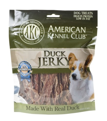 Akc Duck Jerky Dog Treats 8 Ounce Our Healthy Petsour