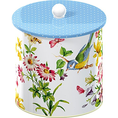 Katie Alice English Garden Biscuit Tin Barrel