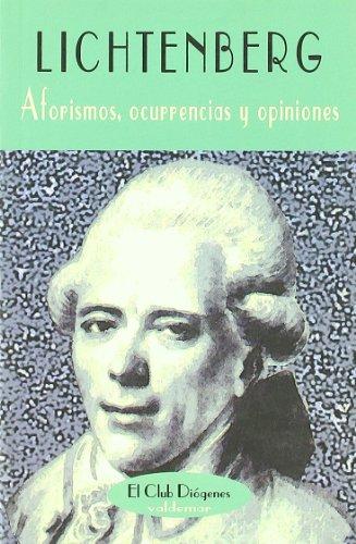 Aforismos, ocurrencias y opiniones (El Club Diógenes)