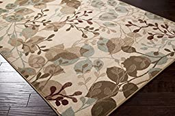 Furnish my Place 5 x 8 Modern Oriental Floral Area Rug Prism Actual 62\