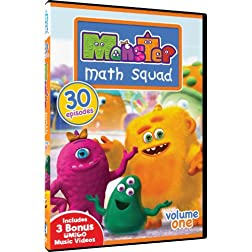 Monster Math Squad - Volume One - 30 Episodes