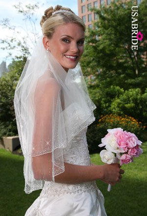 Rhinestone & Crystal Wedding Veil