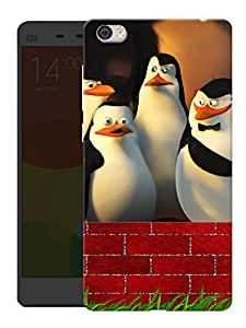 "Humor Gang Penguins Printed Designer Mobile Back Cover For ""Xiaomi Redmi Mi5"" (3D, Matte, Premium Quality Snap On Case)"