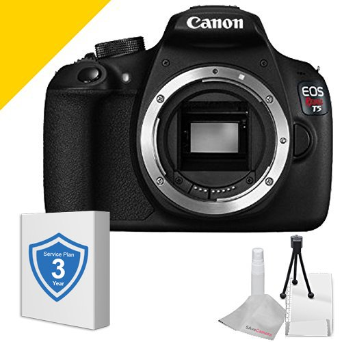 Canon T5 Body Only  &  3 Year Service Plan