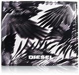 [ディーゼル] DIESEL メンズ 財布 二つ折り MONEY-MONEYHIRESH S - wallet X02824PR7950073UNI PR795H1532 (BLACK/WHITE/)